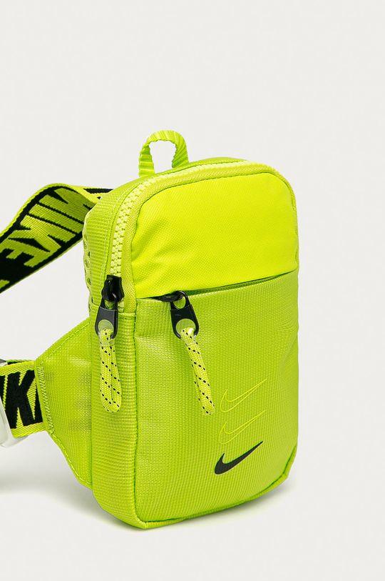 Nike Sportswear - Saszetka żółto - zielony