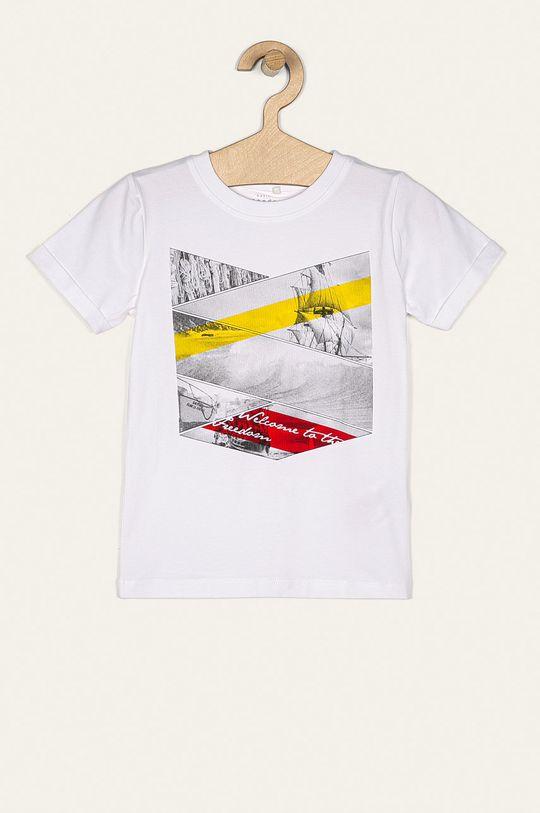 biela Name it - Detské tričko 116-152 cm Chlapčenský