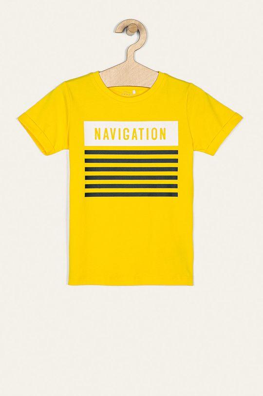 žltá Name it - Detské tričko 116-152 cm Chlapčenský