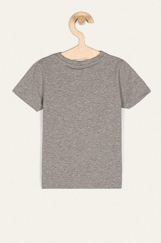 Name it - Dětské tričko 92-110 cm šedá
