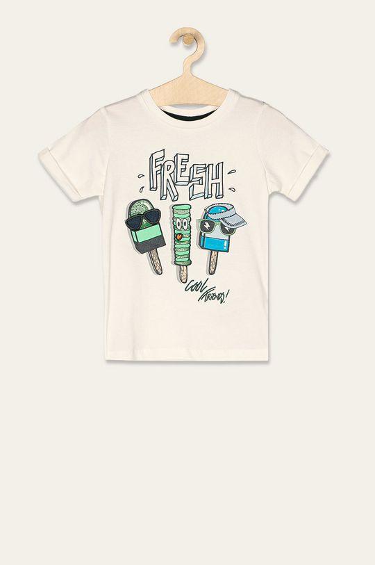 bílá Name it - Dětské tričko 92-128 cm Chlapecký