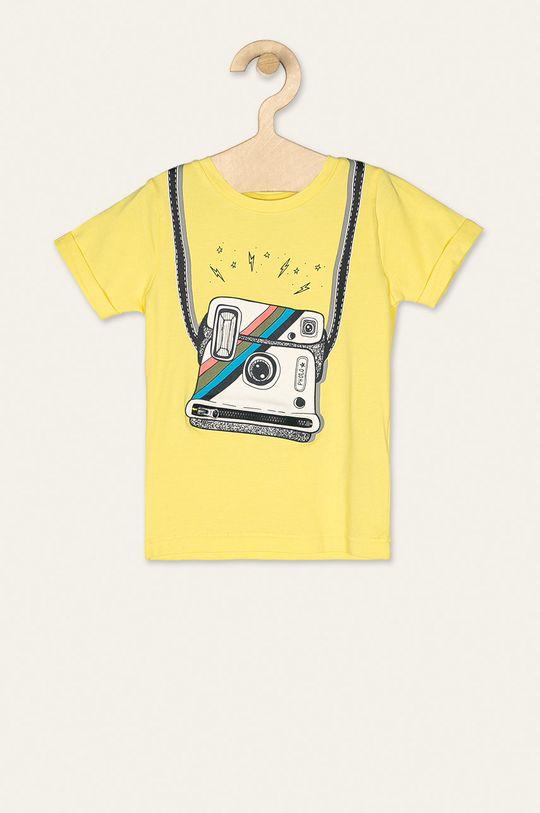 žlutá Name it - Dětské tričko 92-128 cm Chlapecký