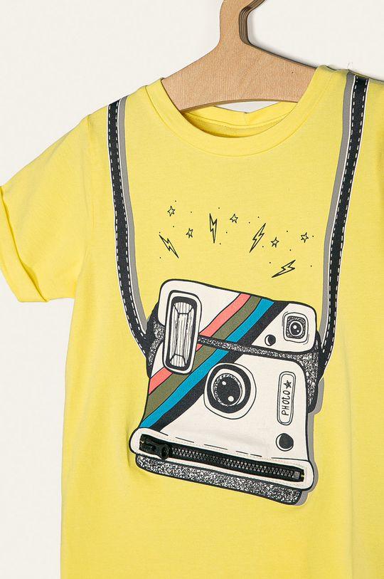 Name it - Dětské tričko 92-128 cm žlutá