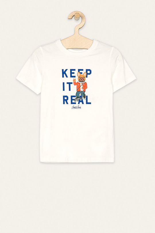 biela Jack & Jones - Detské tričko 128-164 cm Chlapčenský
