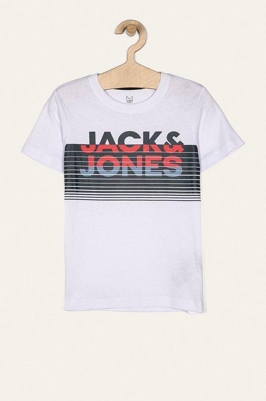 biela Jack & Jones - Detské tričko 128-176 cm Chlapčenský