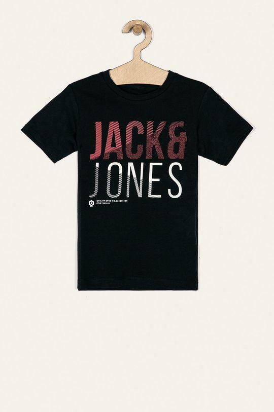 tmavomodrá Jack & Jones - Detské tričko 128-176 cm Chlapčenský