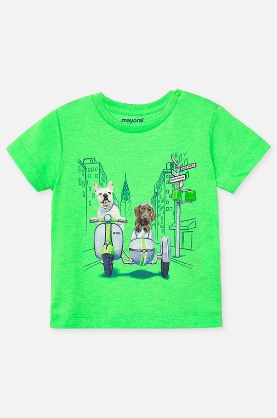 zelená Mayoral - Dětské tričko 68-98 cm Chlapecký