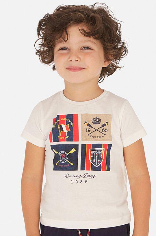 alb Mayoral - Tricou copii 92-134 cm De băieți