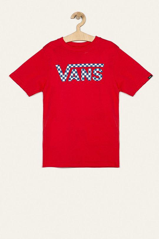 červená Vans - Detské tričko 129-173 cm Chlapčenský