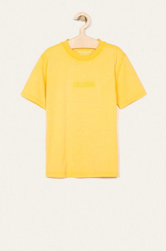 žlutá Guess Jeans - Dětské tričko 118-175 cm Chlapecký