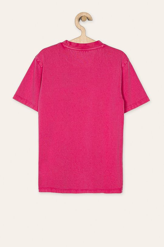 Guess Jeans - Дитяча футболка 118-175 cm яскраво-рожевий