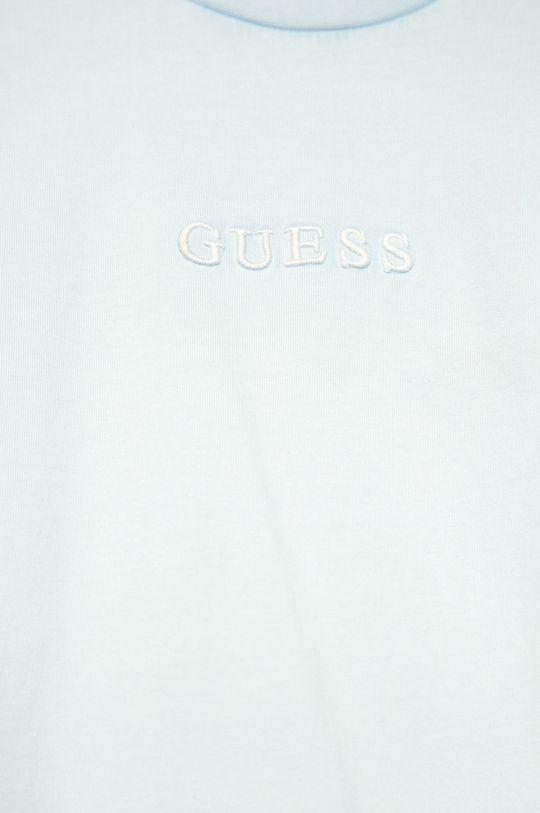 Guess Jeans - Дитяча футболка 118-175 cm світло-блакитний