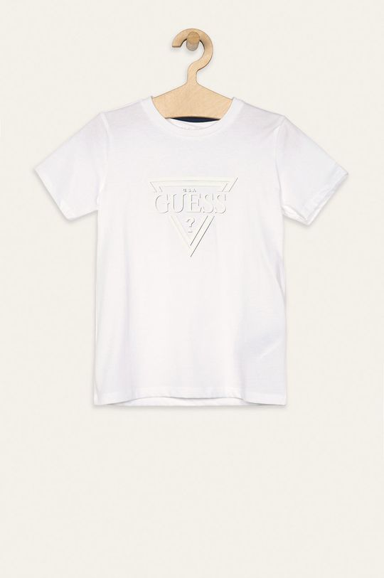 biela Guess Jeans - Detské tričko 118-175 cm Chlapčenský