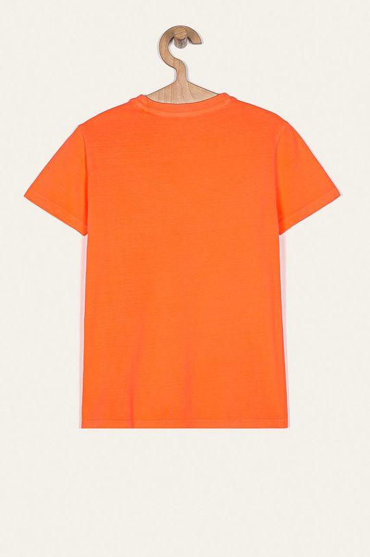 Guess Jeans - Дитяча футболка 104-175 cm персиковий