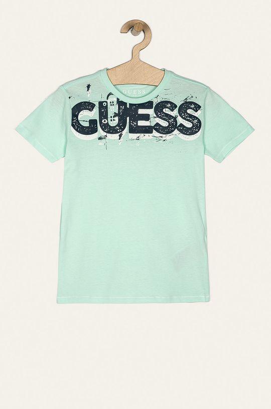 verde pal Guess Jeans - Tricou copii 118-175 cm De băieți