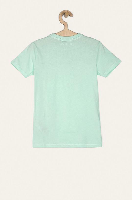 Guess Jeans - Tricou copii 118-175 cm verde pal