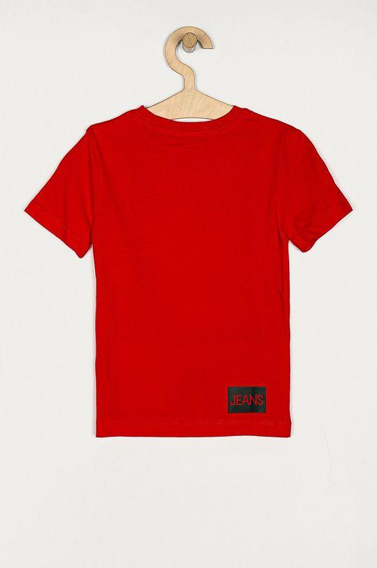 Calvin Klein Jeans - Tricou copii 104-176 cm rosu