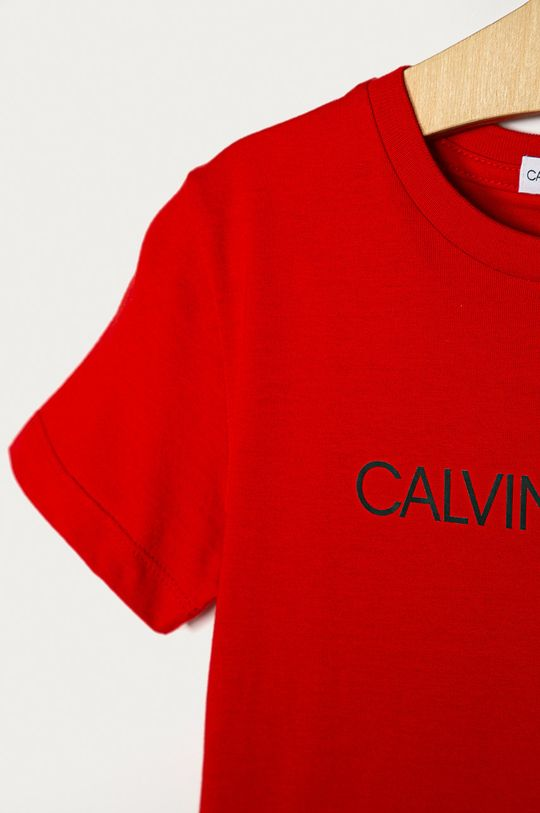 Calvin Klein Jeans - Tricou copii 104-176 cm  35% Bumbac, 65% Poliester