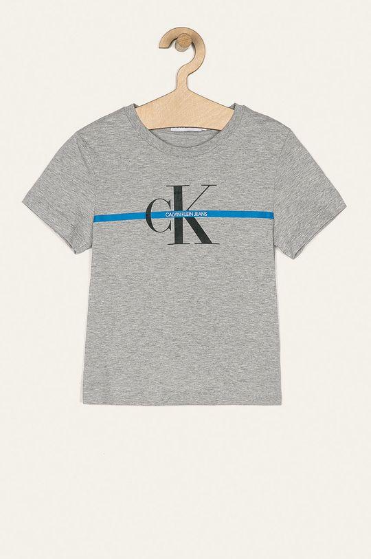 gri deschis Calvin Klein Jeans - Tricou copii 116-176 cm De băieți