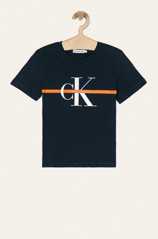 tmavomodrá Calvin Klein Jeans - Detské tričko 116-176 cm Chlapčenský