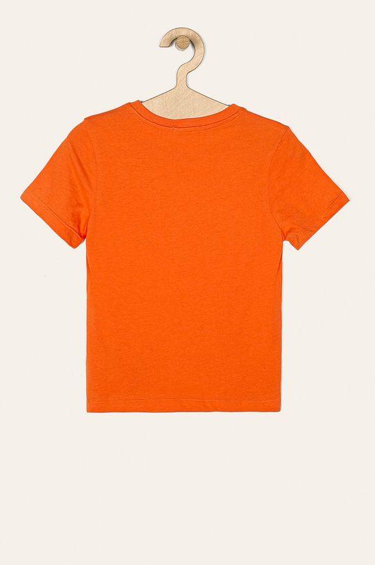 Calvin Klein Jeans - T-shirt dziecięcy 116-176 cm pomarańczowy