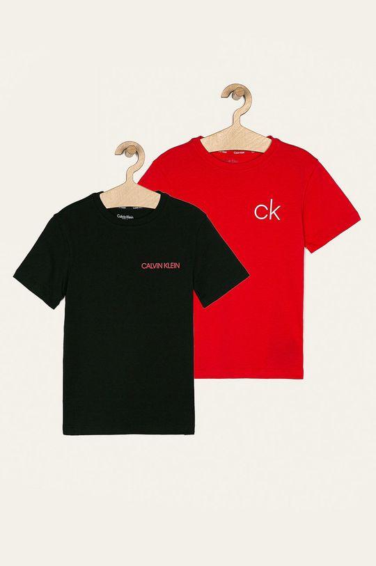 viacfarebná Calvin Klein Underwear - Detské tričko 128-176 cm (2 pak) Chlapčenský