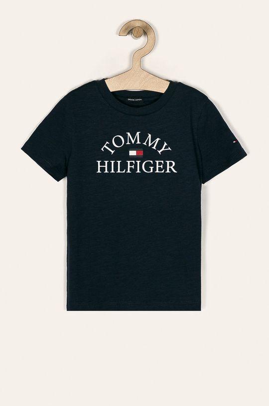 granatowy Tommy Hilfiger - T-shirt dziecięcy 104-176 cm Chłopięcy