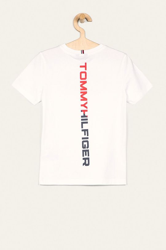 Tommy Hilfiger - T-shirt dziecięcy 128-176 cm biały