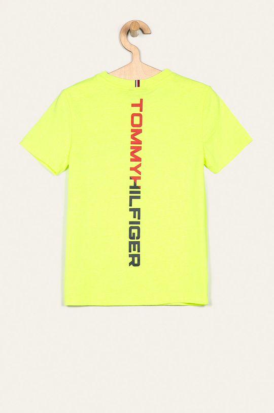 Tommy Hilfiger - T-shirt dziecięcy 128-176 cm jasny żółty
