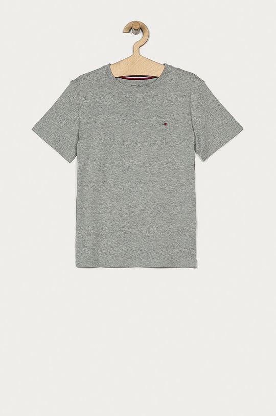 Tommy Hilfiger - T-shirt dziecięcy 128-164 cm (2-pack) szary