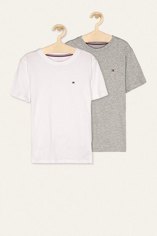 sivá Tommy Hilfiger - Detské tričko (2-pak) 128-164 cm Chlapčenský