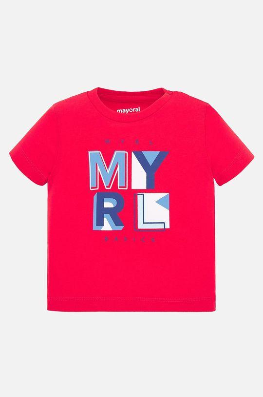 sýtočervená Mayoral - Detské tričko 68-98 cm Chlapčenský