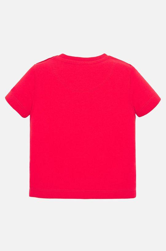 Mayoral - Detské tričko 68-98 cm sýtočervená