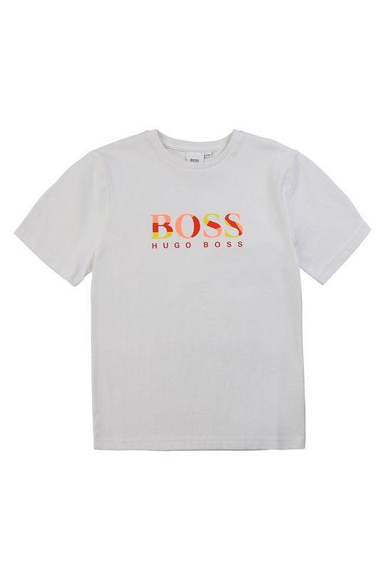 білий Boss - Дитяча футболка 116-152 cm Для хлопчиків