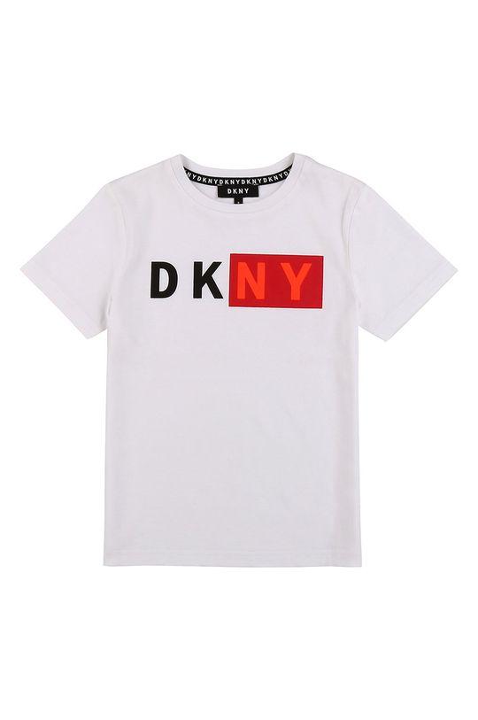alb Dkny - Tricou copii 164-176 cm De băieți