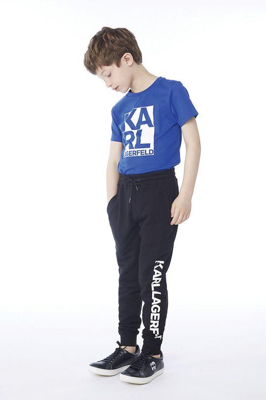 albastru Karl Lagerfeld - Tricou copii 114-150 cm De băieți