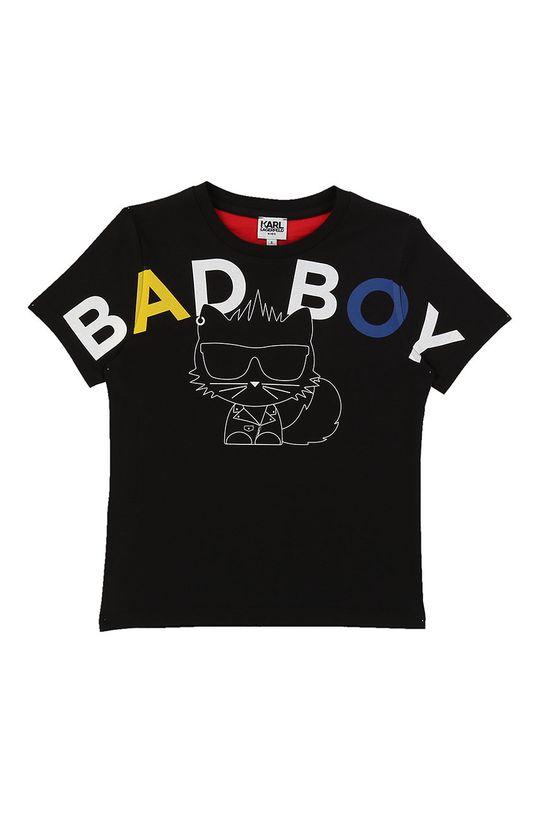 negru Karl Lagerfeld - Tricou copii 162-174 cm De băieți