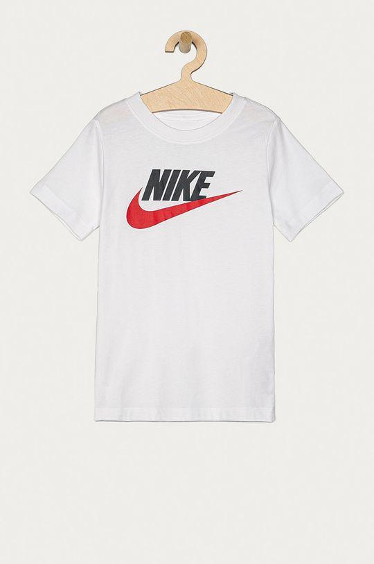 biały Nike Kids - T-shirt dziecięcy 122-170 cm Chłopięcy