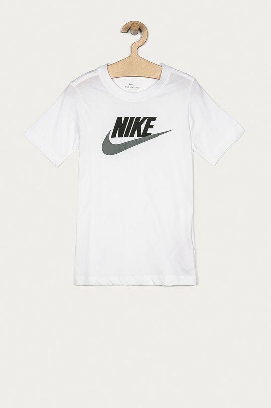 alb Nike Kids - Tricou copii 122-170 cm De băieți