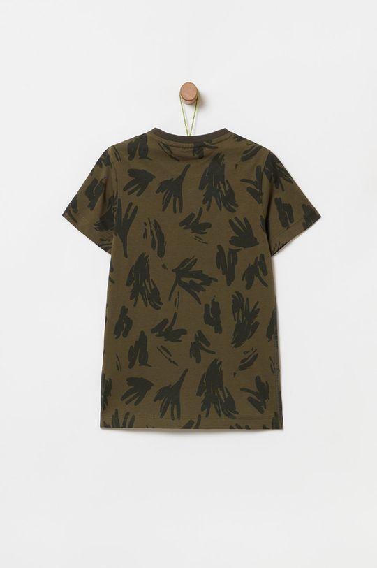 OVS - Detské tričko 104-140 cm vojenská zelená