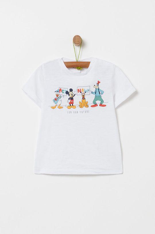 biela OVS - Detské tričko x Disney 74-98 cm Chlapčenský