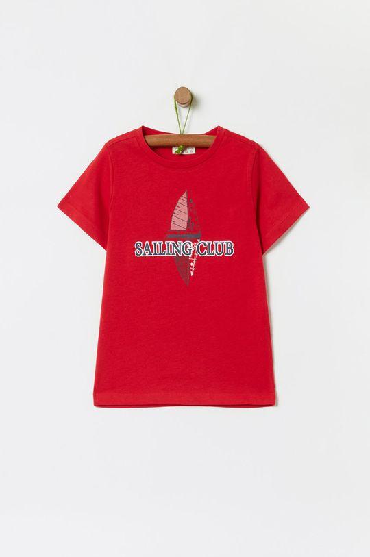 червоний OVS - Дитяча футболка 104-140 cm Для хлопчиків