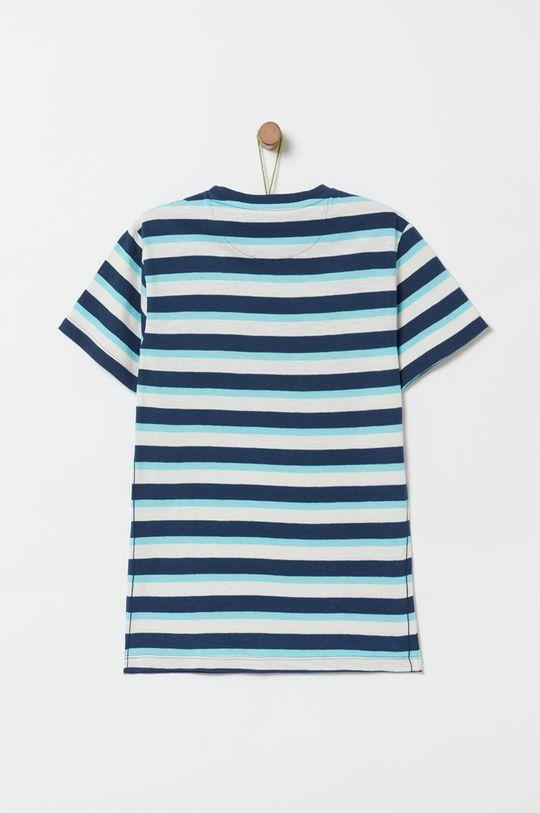 OVS - Detské tričko 146-170 cm tmavomodrá