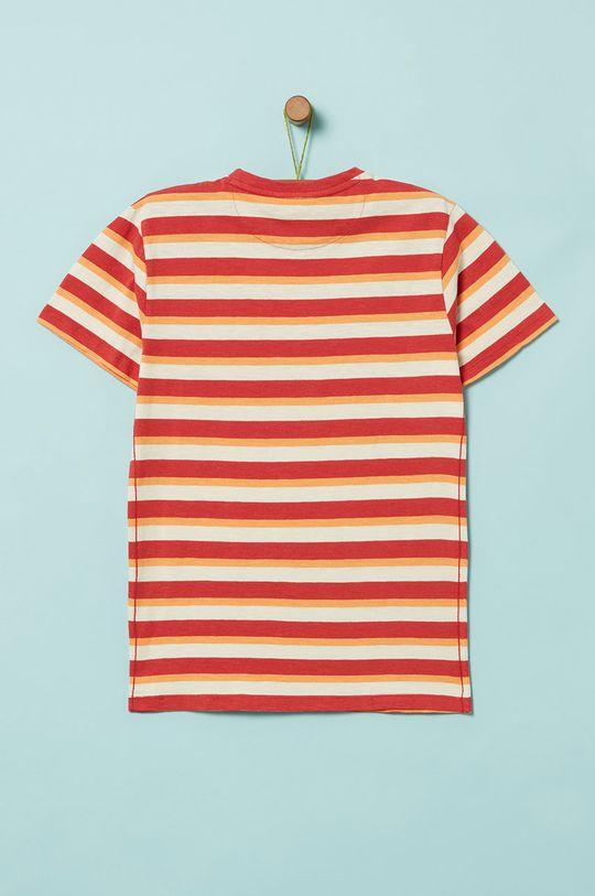 OVS - Detské tričko 146-170 cm červená