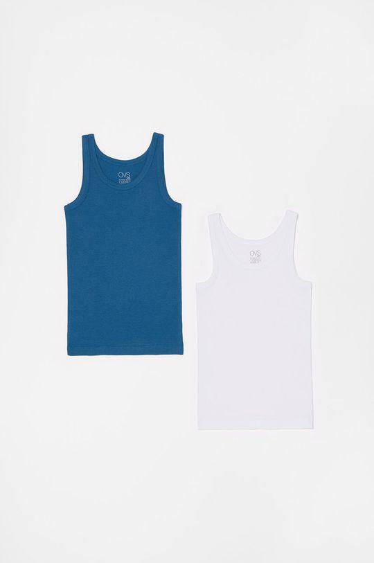 modrá OVS - Detský top 92-128 cm (2-pak) Chlapčenský