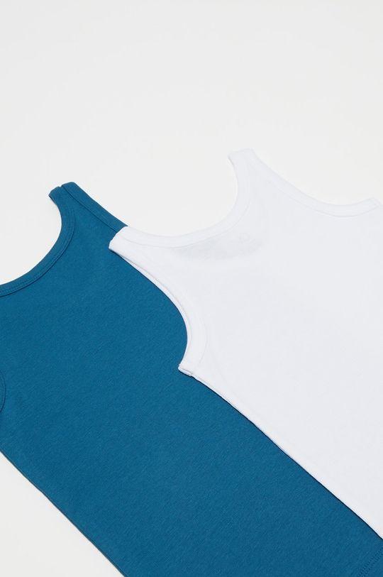 OVS - Detský top 92-128 cm (2-pak) modrá