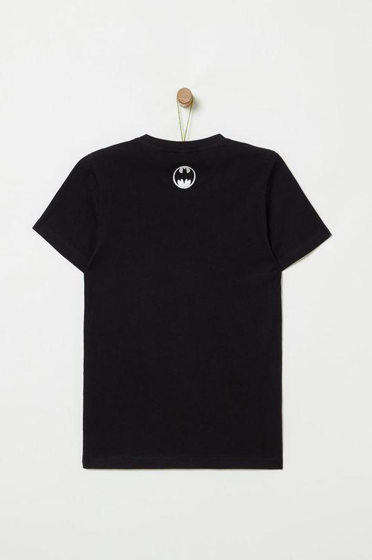 OVS - Detské tričko 146-170 cm čierna