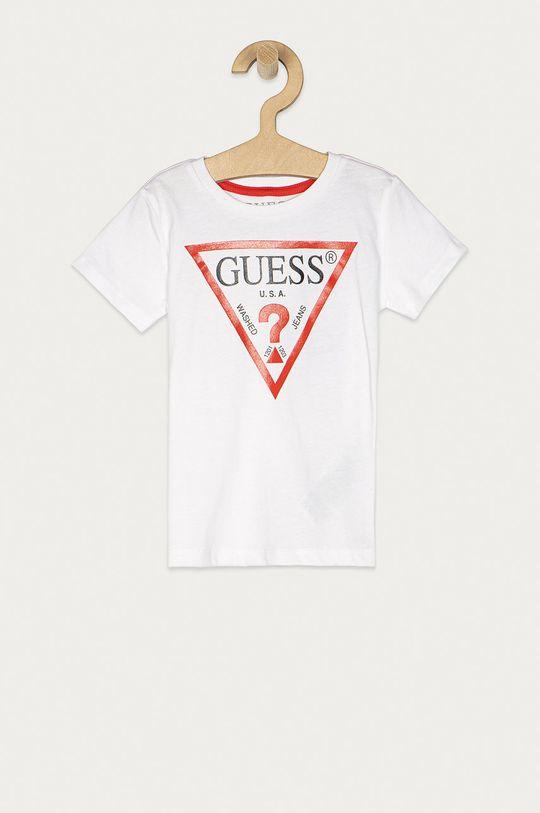 biały Guess Jeans - T-shirt dziecięcy 92-116 cm Chłopięcy