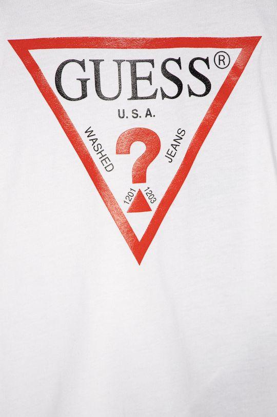 Guess Jeans - T-shirt dziecięcy 92-116 cm biały