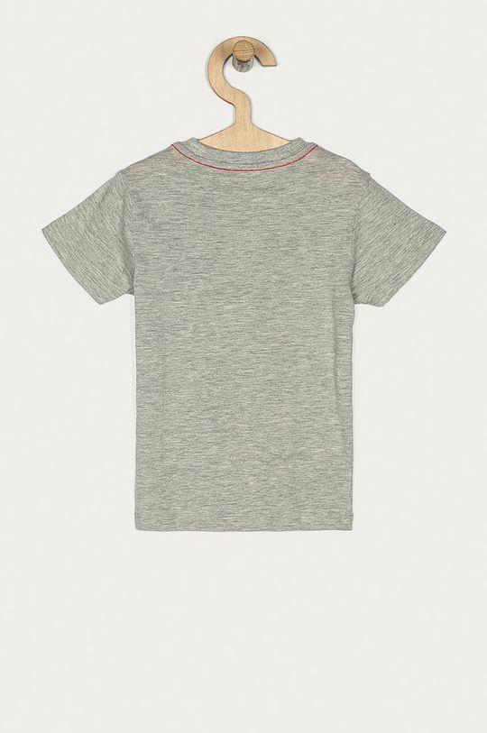 Guess Jeans - T-shirt dziecięcy 92-116 cm jasny szary